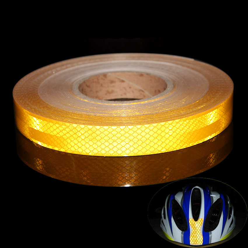 25mmx3m red white yellow micro prismatic sheeting reflective tape 25mmx3m red white yellow micro prismatic sheeting reflective tape stickers bike reflector stickers bicycle light reflectors tape in bicycle stickers from aloadofball Choice Image