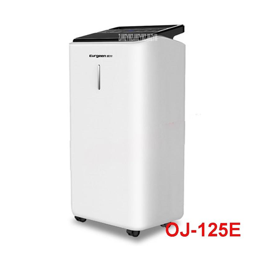 OJ-125E 220V50hz home High power mute dehumidifier bedroom warehouse dehumidifier dry moisture absorption dehumidifier 12L 24H