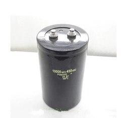 450v10000uf электролитический конденсатор с алюминиевой крышкой, радиальные шины 10000 мкФ 450 dc-двигатель, напряжение 90*130 мм