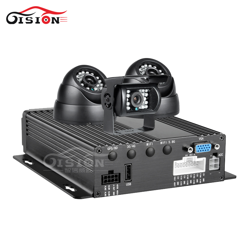 3PCS 2.0MP Car Camera 4CH AHD SD Card Mobile Dvr Kits Video Playback VGA Interface CCTV Surveillance System Car Recorder Dvr 4ch d1 sd card mini mobile video surveillance dvr car dvr kit including camera and monitor for taxi vehicle
