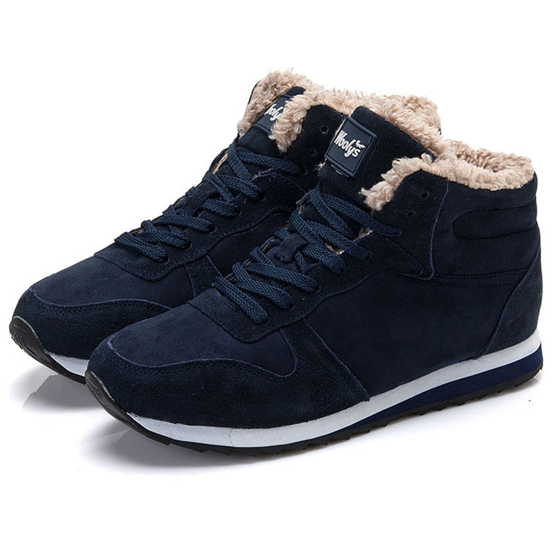 Ankle Boots Warm Ladies Shoes black