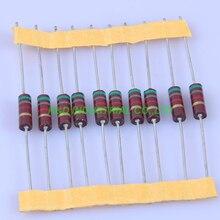 10pcs Carbon Composition vintage Resistor 0.5W 5.1K ohm 5 % цена