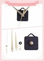 Clock Quartz Movement Mechanism silver/gold Hands Repair Kit Tool Set With Hook 100sets