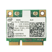 Ссылка 5100 512ANHMW половинной мини WLAN WI-FI карты 43Y6517 572507-001 аккумулятор большой емкости для lenovo IBM Intel 300 Мбит/с T400S SL410 SL510 Dv6 Dv7 Dv8