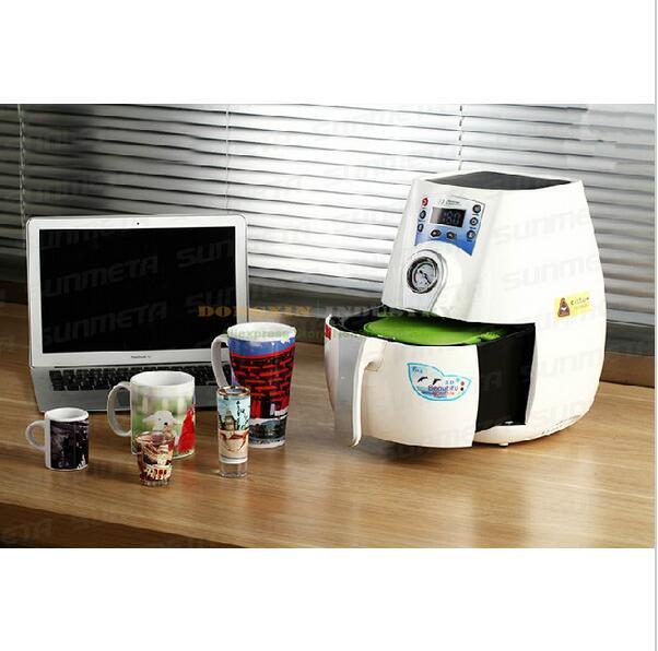Livraison gratuite 3D machine de transfert de chaleur pour tasse coque de téléphone ST-1520 Sublimation machine de transfert de chaleur pour impression tasse/coque de téléphone