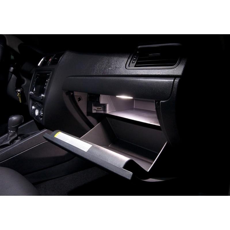 Paket XIEYOU 10pcs LED Canbus Lampu Interior Kit Untuk J MK 6 - Lampu mobil - Foto 4