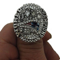 Wholesale 2014 Super Bowl New England Patriots Zinc Alloy silver plated Custom Sports Replica Men World Championship Ring