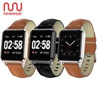Newwear Q13 Smartwatch Men Women ECG+PPG Blood Pressure 1.3' Custom Dial Eight Sport Modes Call Message Push Fitness Smart Watch