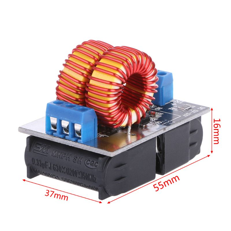 5-15V 150W Mini ZVS Induction Heating Board Flyback Driver Heater Ignition Coil Whosale&Dropship