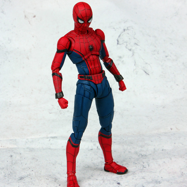 17 CM Spider Man vaporizador de correo Joint Can Move Doll Movie - Figuritas de juguete - foto 2