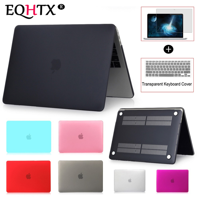 EQHTX-Laptop Case For Apple MacBook Air 13 Pro Retina 11 12 13 15 for MacBook 2016`2017`2018 New Air Pro 13 15