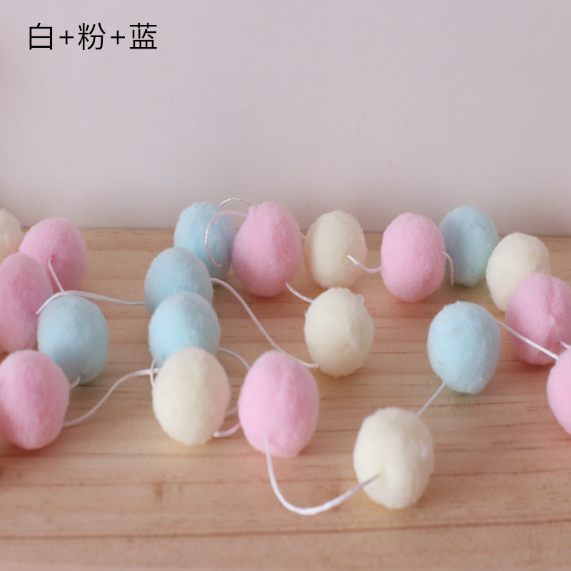 Humor 20pcs 2cm Wool Felt Balls Newborn Photography Props Round For Baby Girls Diy Room Party Decoration Real Life Plush