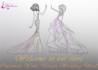 Waulizane Custom Made Link Customer Choosed Dress Link Fee Contact Us Before Buying