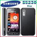 100% original samsung s5230 desbloqueado 3.0 pulgadas de pantalla táctil de 2mp cámara de los teléfonos celulares en el envío libre