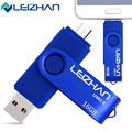 USB 2.0 8 gb 16 gb 32 gb 64 gb flash drive usb 7 rotativa de cor Pen Drive memory stick usb pendrive vara livre grátis