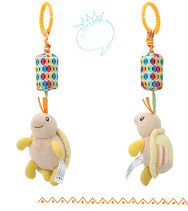 Image 5 - Rattle Toys For Baby Cute Puppy Bee stroller Toy Rattles Mobile Baby bed Stroller 0 12 Months Infant Bed Hanging toy погремушки