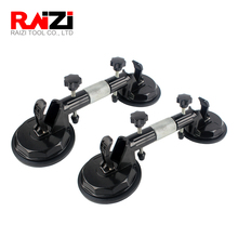 Raizi 2 Pcs Stone Seam Setter Hand Installation Tool For Seam Joining & Leveling Countertop Manual Suction Cup Seam Setter 1pc quartz stone countertops seam tools vacuum adsorption splicer stone adjustment double suction cup multi function hand tool