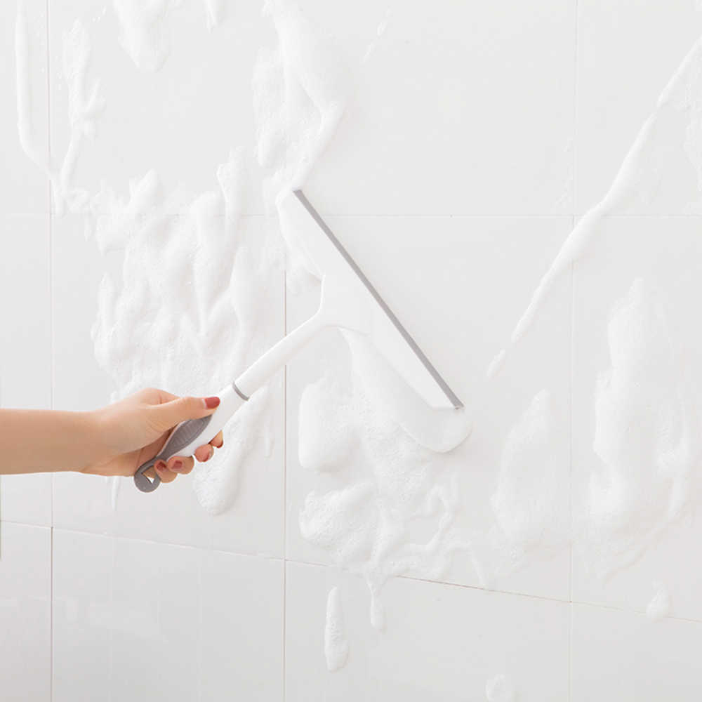 1 PC multifunctionele Reiniging Zuigmond Ruitenwisser Blade Cleaner met Siliconen antislip Handvat voor Schoonmaken Venster /spiegel/Glas