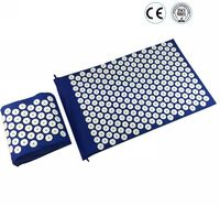 Health Care Massager Yoga Mat Acupuncture Spike Pad Massage Mat Acupressure Cusion Relieve Stress Pain With