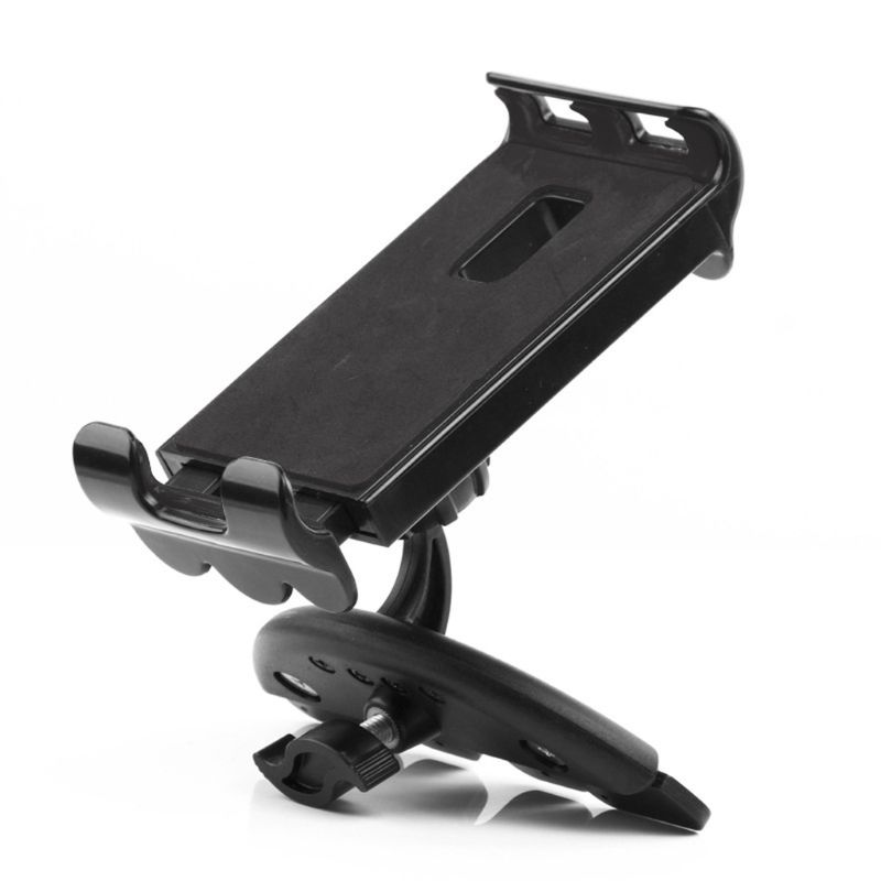 Universal Car CD Slot Cellphone Tablet Bracket Holder Mount Stand Cradle For 3.5-11 Inch IPad IPhone Tablet Mobile Phone