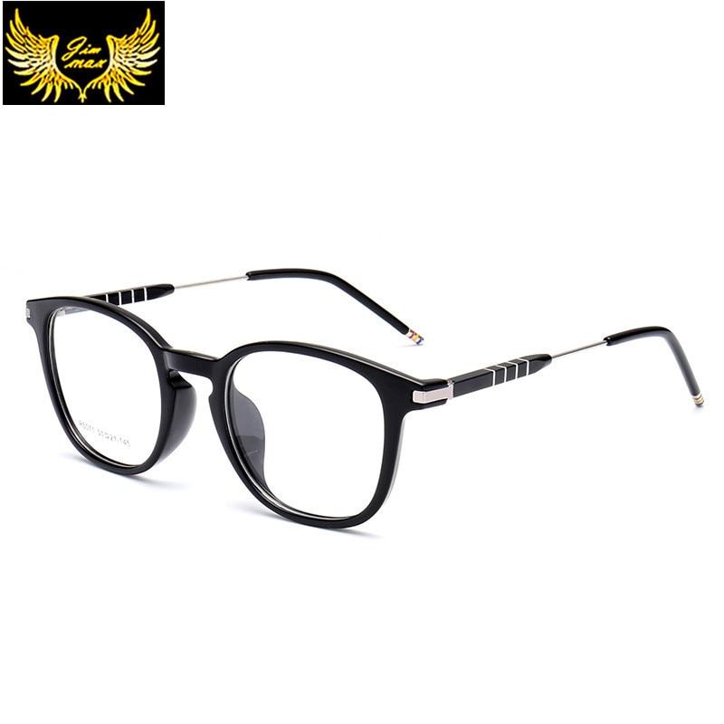 Damenbrillen UnabhäNgig 2016 Neue Ankunft Tr90 Mit Aluminium Retro Stil Frauen Augenglasrahmen Qualität Mode Stil Spektakel Runde Brillen Für Frauen VerrüCkter Preis