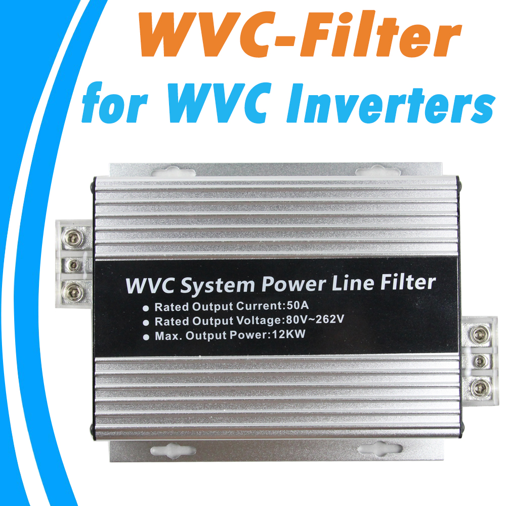 ФОТО WVC Systen Power Line Filter Monitoring Devices for WVC Series Communication  Micro Inverter