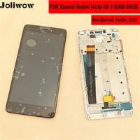 For Xiaomi Redmi Note 4X 4GB RAM 64GB ROM MTK Helio X20 LCD Display Touch Screen