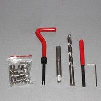 M9 M10 M12 M14 15pcs Thread Repair Kit Set Auto repair professional tools