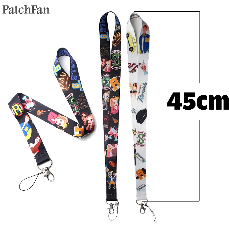 Patchfan Riverdale movie neck lanyards for keys glasses card holder bead keychain phones cameras webbings A1420