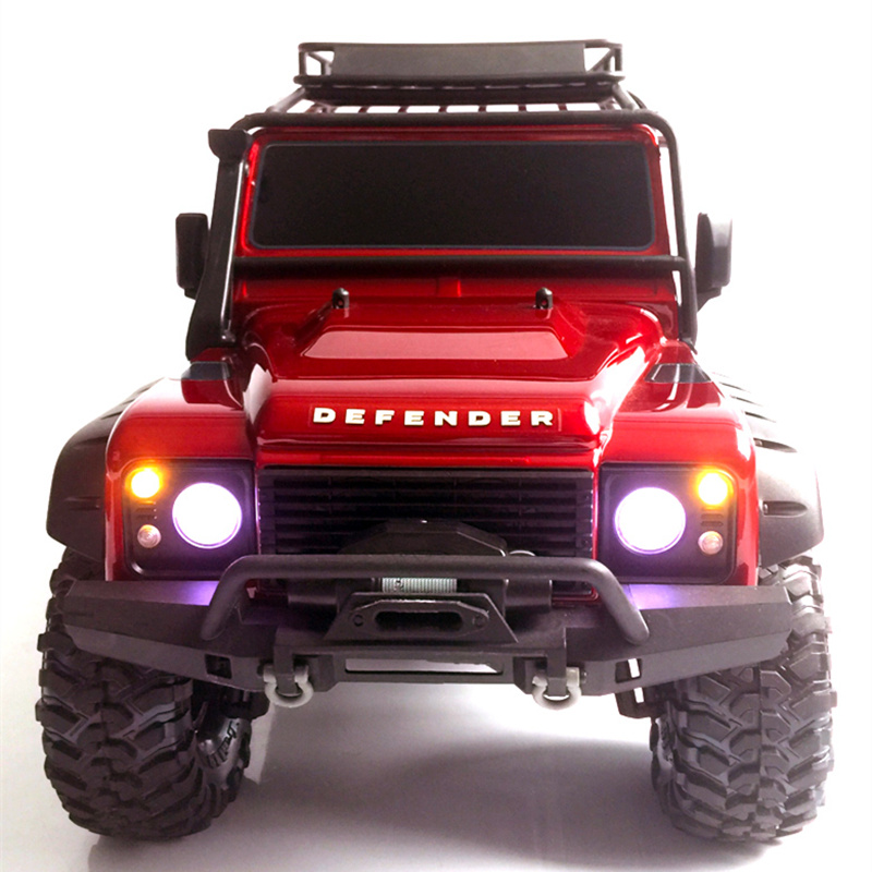 Rc <font><b>Car</b></font> Upgrades Parts 1/10 TRAXXAS Trx-4 Trx4 LED Lamp Light <font><b>Do</b></font> Not <font><b>Need</b></font> Lamp Shade LOOK at the video image
