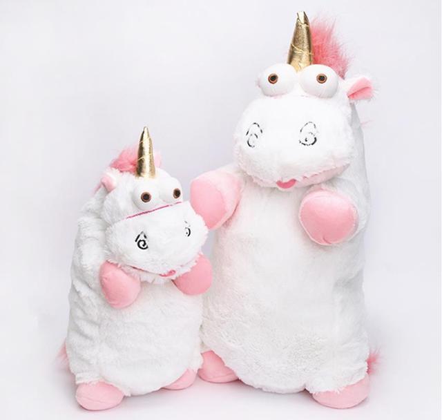 56 см, 40 см, 18 см, 15 см Пушистый плюшевая игрушка единорог, мягкое игрушечное животное, единорог, плюшевые куклы игрушки Peluches Bebe
