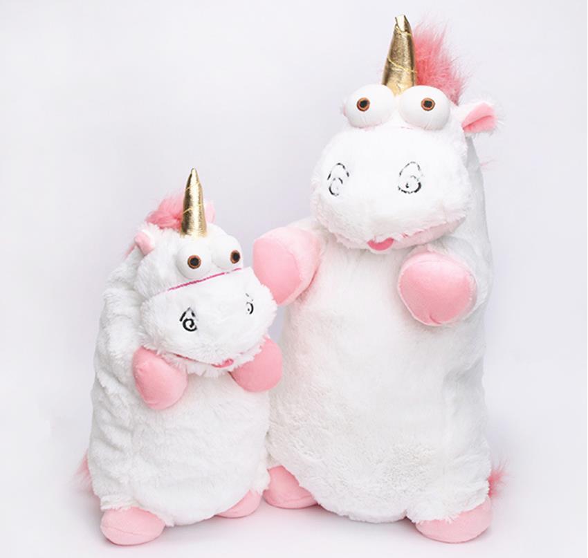 56cm 40cm 18cm 15cm Fluffy Unicorn Plush Toy Soft Stuffed Animal Unicorn Plush Dolls Juguetes De Peluches Bebe