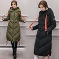 Mulheres Jaqueta de Inverno 2016 Outono E Inverno Desgaste Coatscasacos Parkas Inverno Casacos Mulheres Outwear Longo Casaco de inverno feminino
