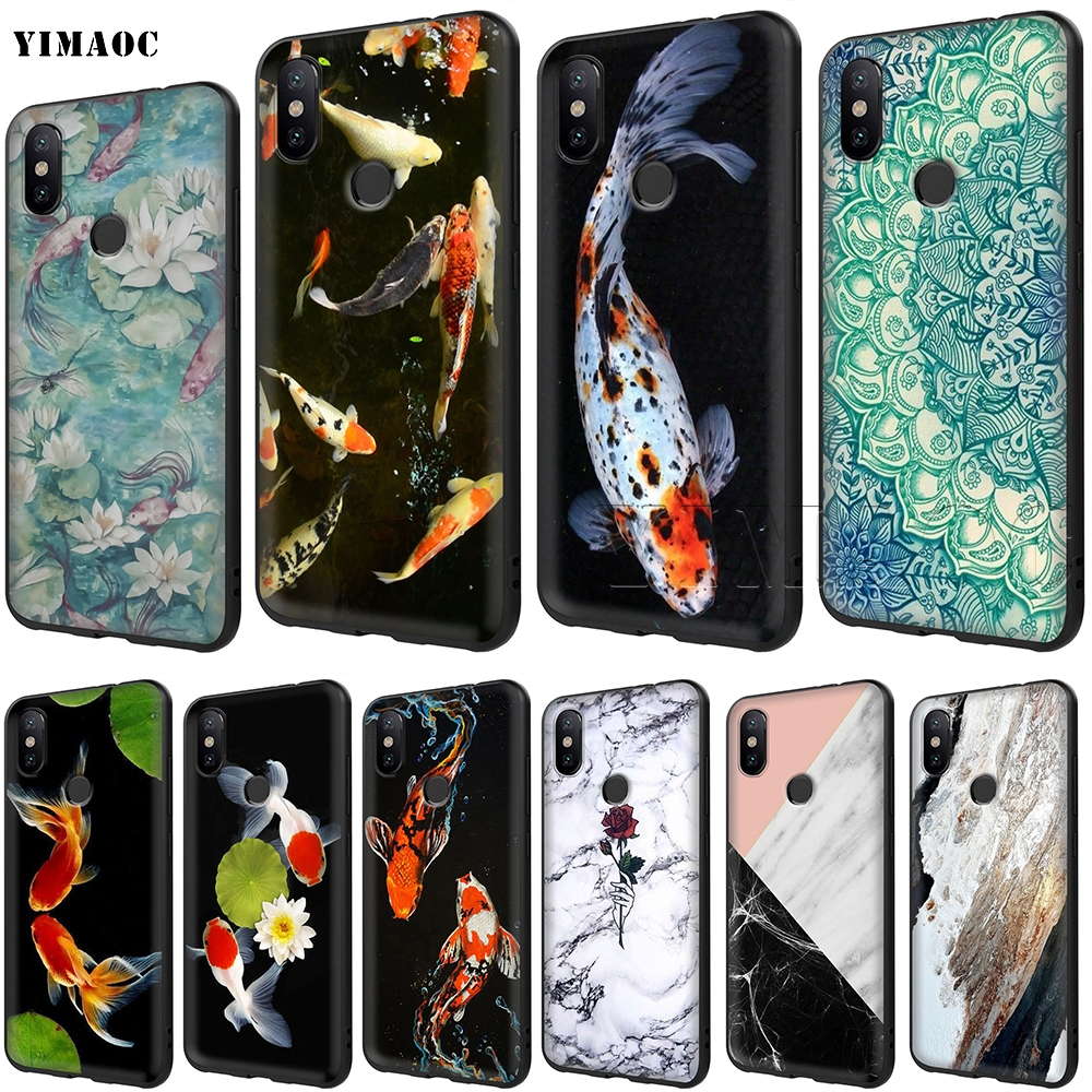 Fitted Cases Maiyaca Koi Carp Fish Phone Case For Xiaomi Redmi 5 Plus 6 6a S2 4x Note 5 Pro 5a 7 Mi 8 Se 9 6x A2 Mix 2s Max 3 Cheapest Price From Our Site