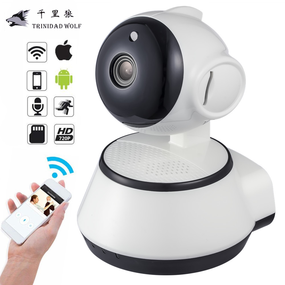 trinidad wolf hd 720p mini ip camera cctv indoor wireless wifi p2p security surveillance camera. Black Bedroom Furniture Sets. Home Design Ideas