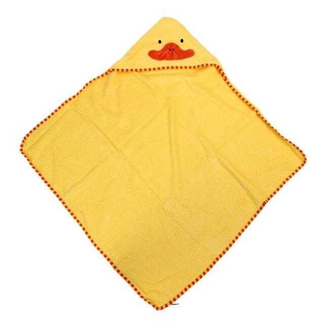 Kinderbadetücher kinder badetücher niedlichen tier förmigen mit kapuze baumwolle bade