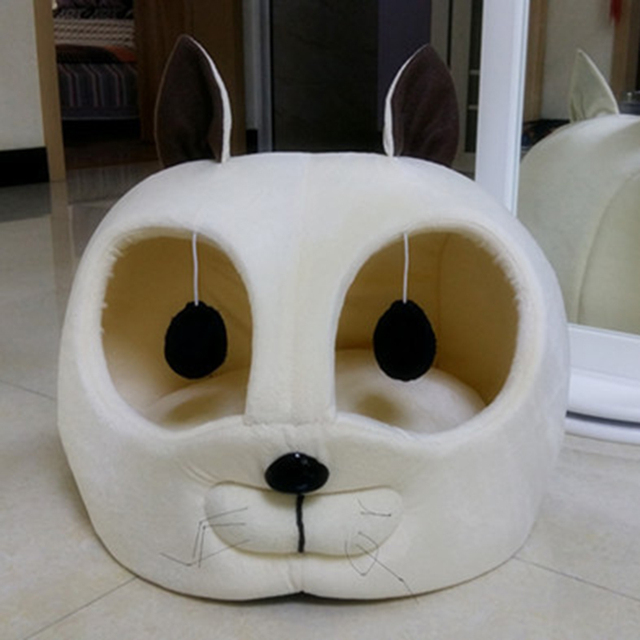 Soft Warm Cat House Pet Product For Small Dog Puppy Kennel Sofa Bed Cat Sleeping Bags Pet Dog Rabbit Nest Cat Litters Tent chien