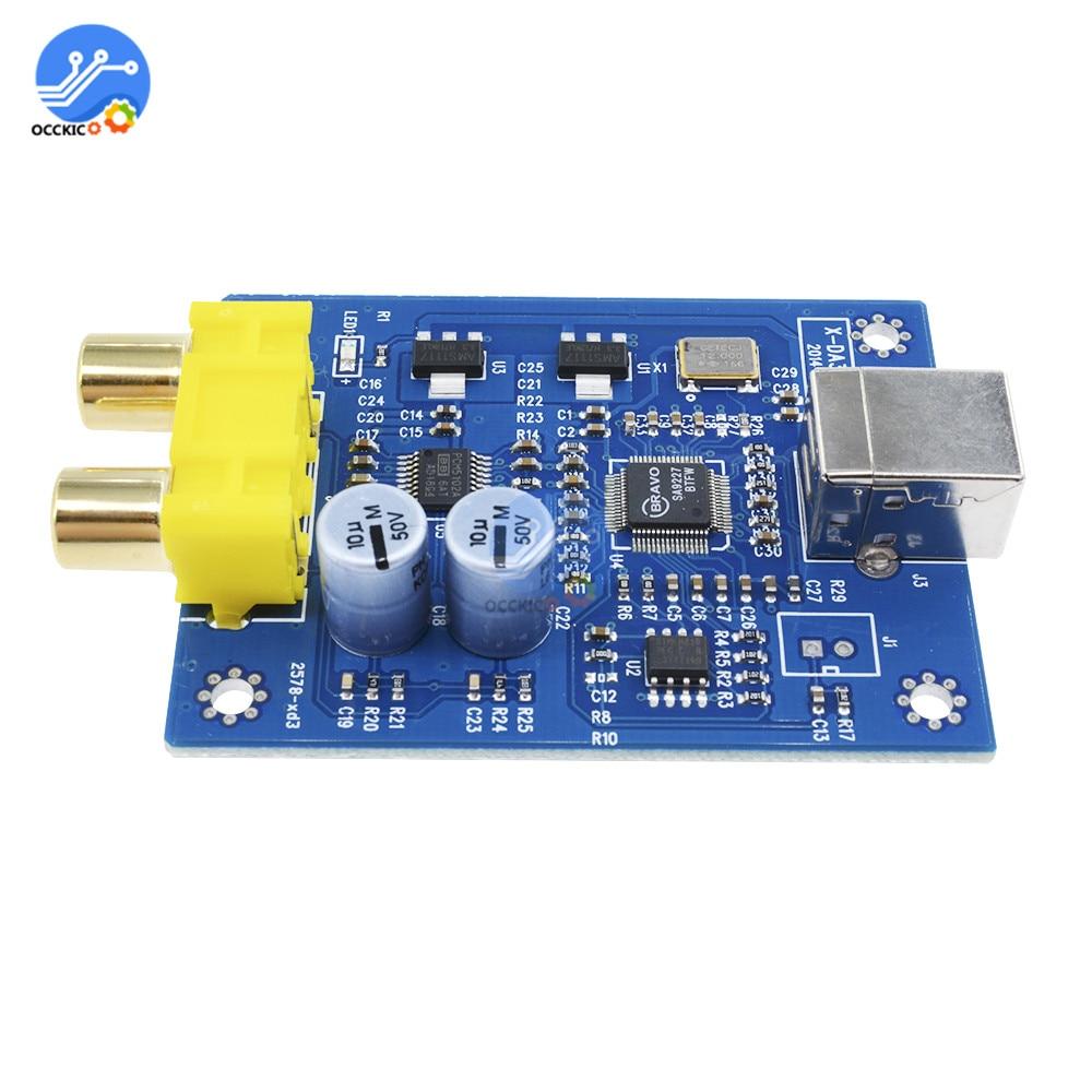 audio decoder board dacmodule SA9227 PCM5102A 32bit USB HIFI decoder board module amplifier decoding audio Player dac converter