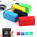 Hongsund Bluetooth Динамик X3 Стиль TF USB FM Беспроводной Портативный Музыкальный Звуковой Ящик Сабвуфера Громкоговорители с Микрофоном caixa де сомов