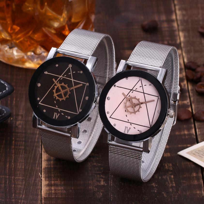 Vansvar Giản Dị Quartz Stainless Steel Băng Đá Cẩm Thạch Strap Watch Analog Đeo Tay Xem Womens Đồng Hồ Top Brand Luxury Reloj Mujer