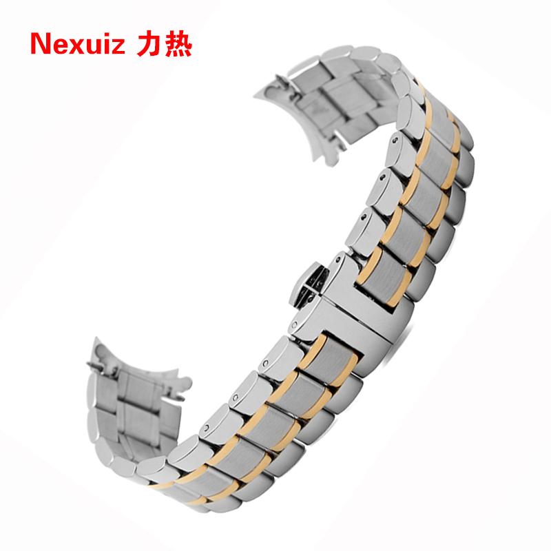 Prix pour Wholsale Bracelet 19mm 20mm 21mm 22mm montre Bracelets de haute qualité en acier inoxydable montre Accessoires