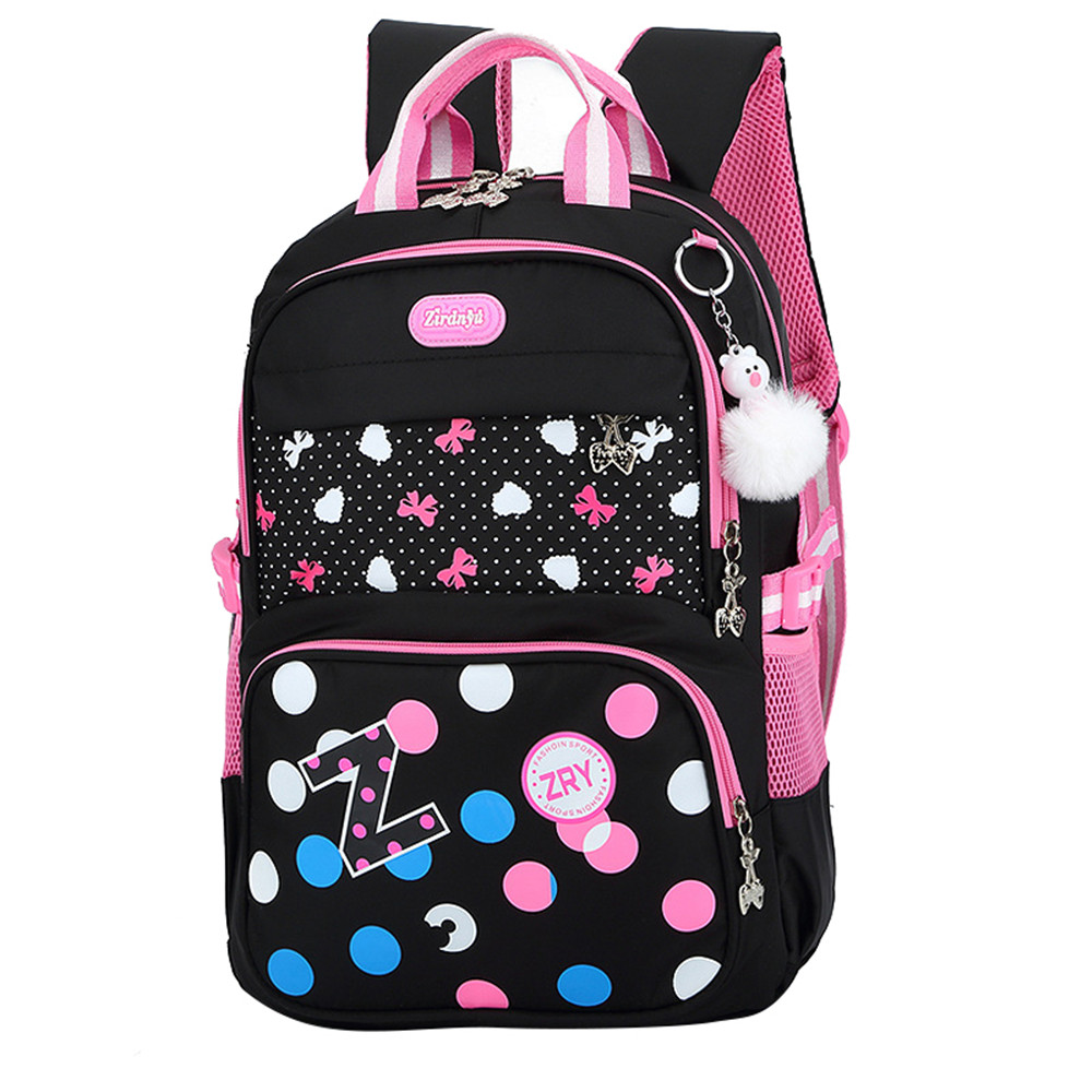 Teenager Girls travel Backpack kids Princess Orthopedic school backpack for girls Rucksack Loveing School Bags mochilas ...