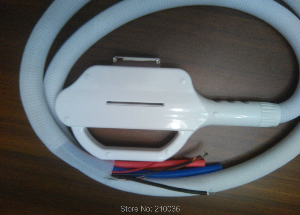 beauty instrument accessories filtered SHR or IPL handpiece HANDLE
