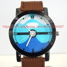 100pcs Wholesale Casual Canvas Strap Quartz Wristwatch Women Men Children Fashion Watch Fress Shipping DHL Militery Watch