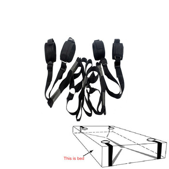 Erotic Toys Under Bed Restraint Bondage Fetish Sex Products Handcuffs & Ankle Cuff Bdsm Bondage Sex Toys For Couples Adult Games цена 2017
