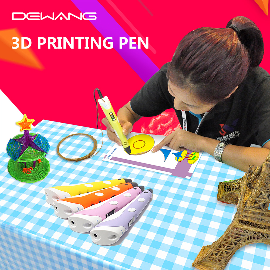 DEWANG 3D-skrivare Ritning 200M ABS Filament 3D-skrivarpen - Kontorselektronik - Foto 4