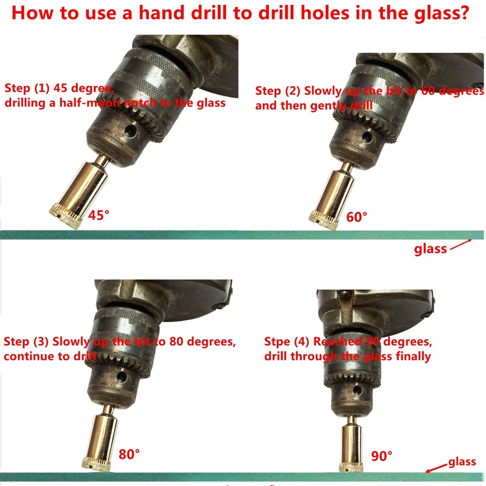 """1 pc 50mm 2/"""" inch THK Diamond coated drill drills bit tile marble hole saw glass"""