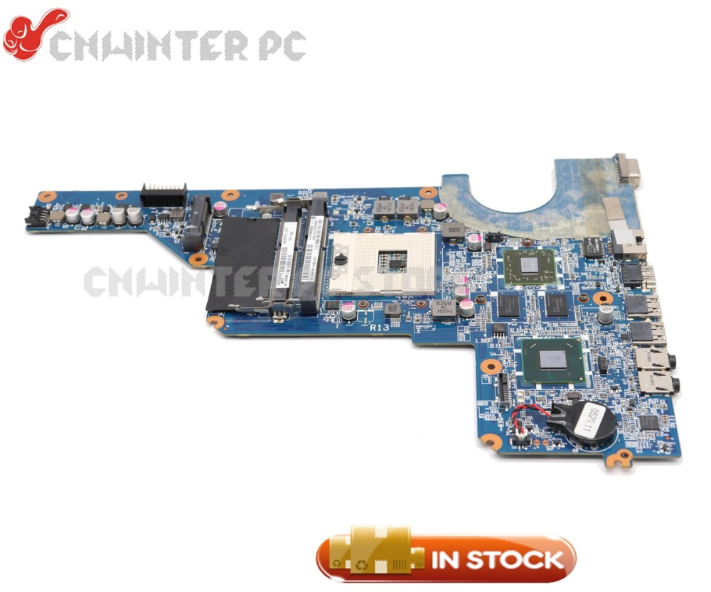 NOKOTION 636375-001 650199-001 DA0R13MB6E0 Laptop Motherboard For HP Pavilion G4 G6 G7 MAIN BOARD HM65 DDR3 HD6470 GPU