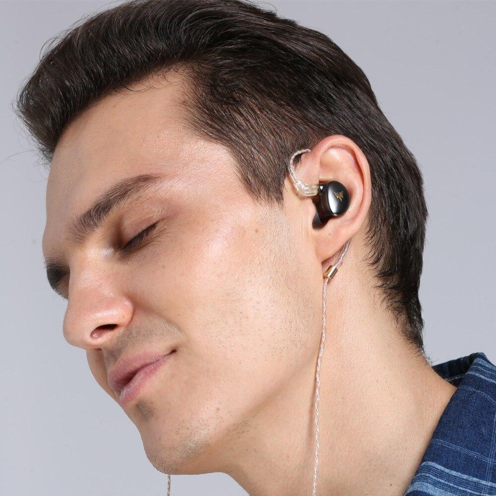 Image 4 - kulaklık A HE03 HiFi Bass Earphones Hi Res Headsets Hybrid Armature 2Pin Connector 3.5mm In Ear Monitors HiFi Earbuds  kulaklı-in Earphones from Consumer Electronics