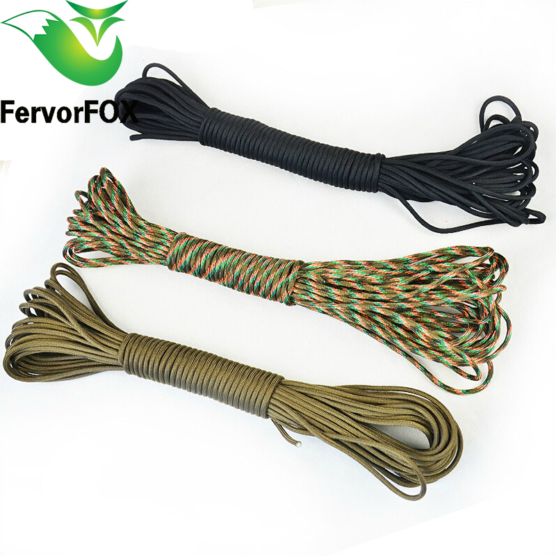 50 Meter. 2mm One Stand Cores Paracord For Survival Parachute Cord Lanyard Camping Climbing Camping Rope Hiking Clothesline